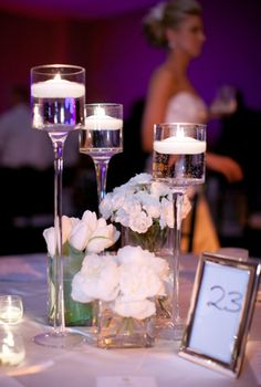 I like the frame idea for the table number.... but i would definitely want to make it a cooler looking.