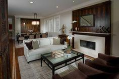 Living Room - Contemporary - Living Room - Chicago - Fredman Design Group