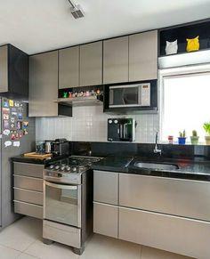 #cozinha via instagram Me gusta que no llega al piso y se oud lavar fácil
