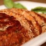 Need a quick, satisfying & healthy meal tonight?! Healthy+Turkey+Meatloaf Hits The Spot!