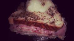 Lanche de forno / Pão Pullman,queijo e presunto