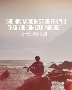 God Has More In Store For You Than You Can Ever Imagine religious god religious quotes faith religion faith quotes god quotes inspirational quotes about life religious faith quotes inspirational religious quotes Life Quotes Love, Great Quotes, Quotes To Live By, Inspirational Quotes, Motivational, Super Quotes, Bible Quotes, Bible Verses, Me Quotes