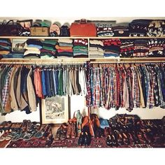 It's sad knowing I'll never own this closet..