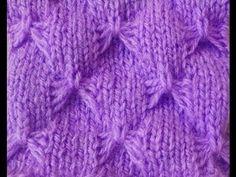 Tricô: Ponto borboleta, ou lacinho » Tricotando Crochê