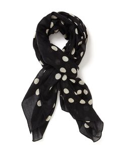 Hot Dot Cashmere Silk Scarf 68 x 50 by Marc by Marc Jacobs at Gilt Cashmere 5b5c94ec42c