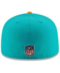 New Era Boys  Miami Dolphins Sideline 59FIFTY Fitted Cap - Blue 6 5 8 e1ac7fcc2