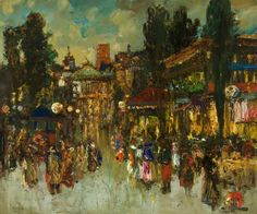 The Carnival by James Kay (1858-1942)