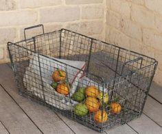 BAR: Wire baskets for citrus/herb bundles