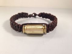 Real Bullet Bracelet by Leigh Bee Jewelry  Bullet jewelry, bullet bracelet, mens gifts, boyfriend gifts