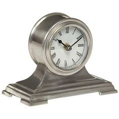 I pinned this Small Desk Clock in Pewter from the All In a Day's Work event at Joss and Main!