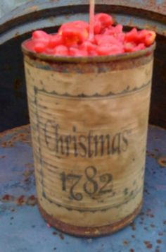 Candle  Rusty Can Candle  Scented  by DebsCandlesandDreams on Etsy, $11.99