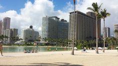 Waikiki beach in Honolulu