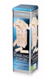 9.50 for 48 pieces or 51 Jenga pieces for $20.00 from amazon.