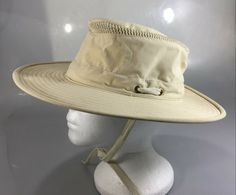 Tilley Hat Airflo 7 1 4 Beige Nylon LTM6 Repels Rain Blocks UV Rays Canada c871f97c871