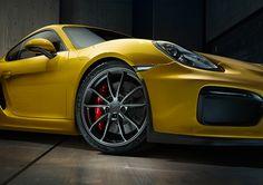 Porsche Cayman GT4 on Behance