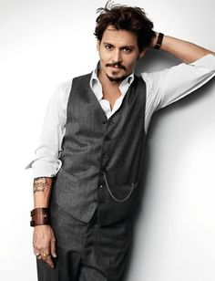 Johnny Depp, the man ages like a fine wine