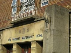 The Barratt Maternity Hospital...