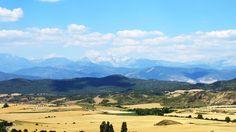 Los Pirineos desde la carretera de Jaca a Zaragoza by PVillegas