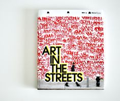 Art in the Streets chronicles the exhibit, the first large-scale American museum exhibition of its kind. It connects the dots between the graffiti and street art movements and highlights their connection to some of our other favorite subcultures: hip hop and skateboarding.