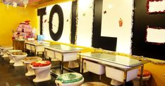 Modern Toilet (Taicung Branch) 2F., No.101, Yijhong St., North District, Taichung Food: 2.5 Service: 3 Price: Fair Theme cafes are ...