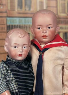 Character dolls by Heubach - Theriault's Antique Doll Auctions