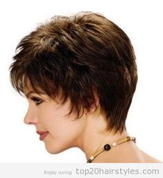 Short Haircuts for Round Faces and Plus Size | plus size haircuts , short hairstyles for round faces plus size