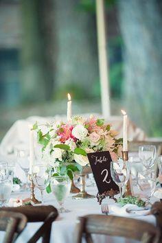 Color Inspiration: Light Pink and Ivory Wedding Ideas - MODwedding