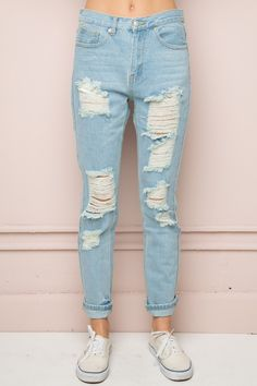 Jameson Distressed Denim