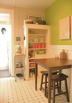 Small kitchen table with stools the bk lounge for Small eating table