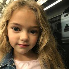 💗Heading home! Gymnastics Costumes, Child Models, Beautiful Children, Baby Fever, Cute Kids, Blue Eyes, Character Inspiration, Little Girls, Portrait