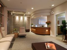 ORA Oral Surgery and Implant Studio Patient Lounge
