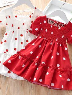 Girls Frock Design, Baby Dress Design, Kids Frocks Design, Baby Girl Dress Patterns, Baby Frocks Designs, Baby Clothes Patterns, Kids Summer Dresses, Dresses For Tweens, Skirts For Kids