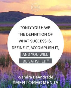 #Inspiration | #MentorMoments from #LevoLeague: Samira DeAndrade, Senior Account Executive, Diesel