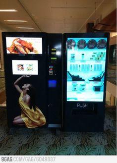 ¿Un poco de caviar? Con esta máquina expendedora lo tendremos. En el #vending, todo es posible. ;)