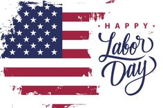 Stock Image: Holidays happy labor day holiday banner with brush stroke background in united states national flag colors and hand lettering text design. Labor Day Quotes, Weekend Quotes, Primrose Oil Labor, Evening Primrose, Labor Day Clip Art, Labor Inducing Tricks, Labor Day History, Labor Day Decorations, Labor Day Pictures
