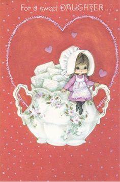 Vintage Valentine's Day card.