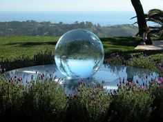 "This is a ""gazing ball"" I would really enjoy!"