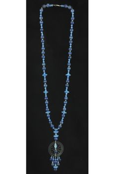 ----- E-shop www.lapilly.com -----  #sodalite #collier #bleu #blue #Necklace #sautoir #pierre #stone #lapillybijoux #piece unique
