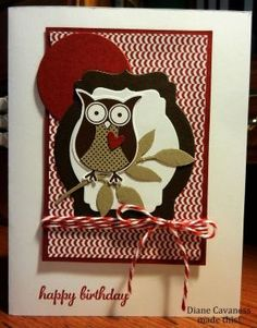 Stampin' Up Owl Builder Punch by sue.baldwin.52