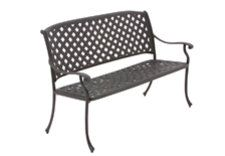 Bramblecrest Rimini Bench in Black £372.99