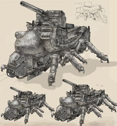 Tank Arach by Monkey-Paw  ★    CHARACTER DESIGN REFERENCES™ (https://www.facebook.com/CharacterDesignReferences & https://www.pinterest.com/characterdesigh) • Love Character Design? Join the #CDChallenge (link→ https://www.facebook.com/groups/CharacterDesignChallenge) Share your unique vision of a theme, promote your art in a community of over 40.000 artists!    ★