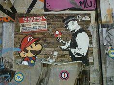 Banksy Brick Lane, London