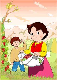 Heidi y Pedro. Heidi Cartoon, Tom And Jerry Cartoon, Cartoon Drawings, Cartoon Art, 80 Cartoons, Sweet Stories, Old Anime, 90s Childhood, Love Pet