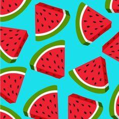 Watermelon Lovin' iPhone All Models Hard Shell Protective case Watermelon Background, Watermelon Wallpaper, Club Penguin Wiki, Cartoon Wallpaper, Cool Art, Fun Art, Print Design, Design Art, Vibrant Colors