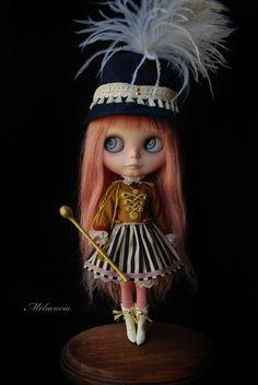 "Curently on eBay - Sept 10, 2012  Melacacia Custom #113  ""Isabella""  ""La Petite Majorette""  5th girl in ""Little Human Girl"" series that began in March of 2011  Majorette :: A.jpg picture by MelanieAcacia - Photobucket"