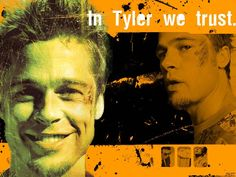 Movies Wallpaper: Fight Club - In Tyler We Trust