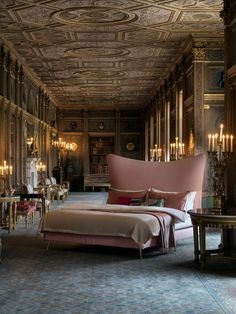 The Glitzy History of a Bespoke Bed-Maker Luxury Duvet Covers, Luxury Bedding Sets, Bed Maker, Bed Sets For Sale, Bed Price, Dream House Interior, Contemporary Bedroom, Bed Design, Craft