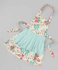 Apron - Not a pattern, just an idea for one to make for the girls