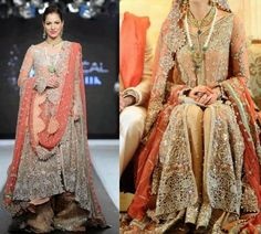Gorgeous Fahad Hussayn Bridal and Groom Outfits Collection (9)