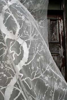 Timorous Beasties Fabric - Spring Blossom Lace